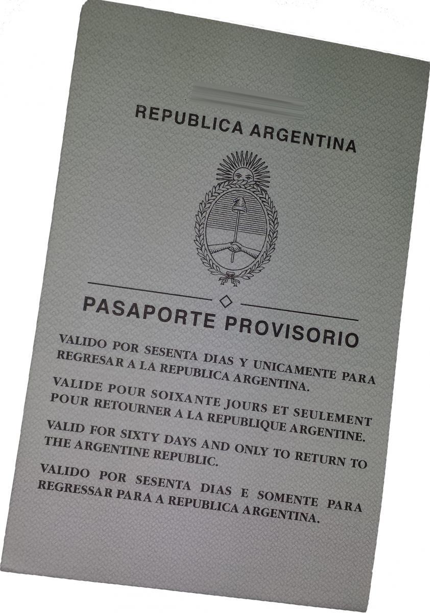 PASAPORTE PROVISORIO | Consulado General en Vigo